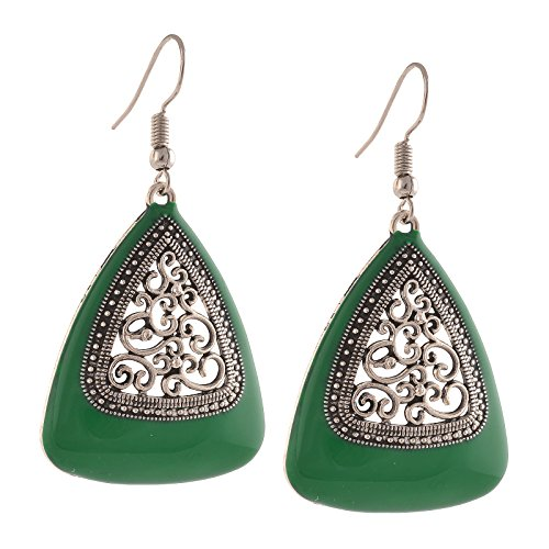 Zephyrr Jewellery Ethnic Hook Earrings with Cutwork design for Girls and Women  available at amazon for Rs.159