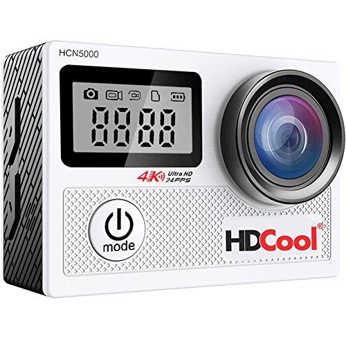 HDCool-Action-Cam-4K-20MP-Wifi-Action-Camera-Lenti-Super-Grandangolo-a-170-Gradi-Schermo-LCD-da-20-Pollici-e-Schermata-Anteriore-da-096-Pollici-2x1050mAh-Batterie