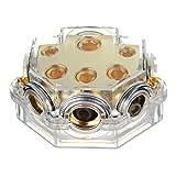 GOZAR Aps 0/1 Gauge Zu 8X2 4X2 2X1 Spur Auto Power / Ground Verteilerblock Skpd-02