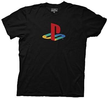 sony playstation logo. sony playstation classic logo t shirt (small)