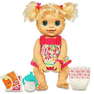 Baby Alive My Real Baby Doll Mouth Moves When She Talks ...