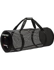 Cressi Gorgona - Bolsa de buceo unisex, color negro, talla 107 lt