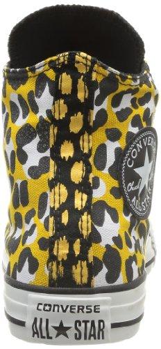 Converse Chuck Taylor Ani Print Hi 308440-55-15 Damen Sneaker Gold - O (o Noir15)