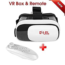 DOEL VR BOX 2.0 Virtual Reality Glasses, 2016 3D VR Headsets for 4.7~6 Inch Screen Phones iphone 4S, iphone 5s, IPhone 6 / 6 S , Samsung LG Sony HTC, Nexus 6 etc.