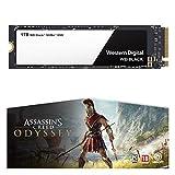 WD Black SSD NVMe WDS100T2X0C Unità a Stato Solido, 1 TB, NVMe ad Alte Prestazioni