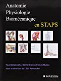 Anatomie, physiologie, biomécanique en STAPS