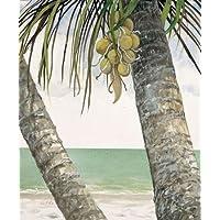 Seaside Coconuts by Fisk, Arnie disponibile–Stampa artistica su tela e