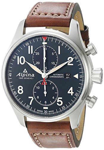 ALPINA STARTIMER PILOT HERREN-ARMBANDUHR 44MM AUTOMATIK AL-725N4S6