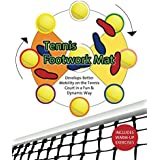 Tennis Footwork Mat: Develop better mobility on the tennis court with a soccer ball (English Edition)