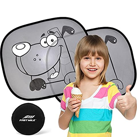 Car Sun Shade (2 Pack) - Universal Static Cling Sunshade