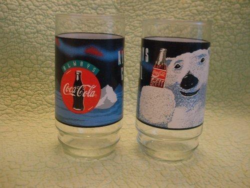 indiana-glass-coca-cola-coca-cola-always-coca-cola-white-polar-bear-set-of-8-glasses-coolers-16-oz-b