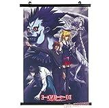 Wallscrolls-Wonderland Anime Manga Death Note Stoffposter Wallscroll Tapete L Kira Plakat Wanddekoration Home Decoration Geschenk 60x90CM