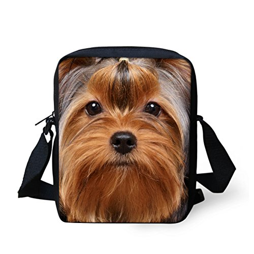 showudesigns , Borsa Messenger  multicolore eagle fashion dog