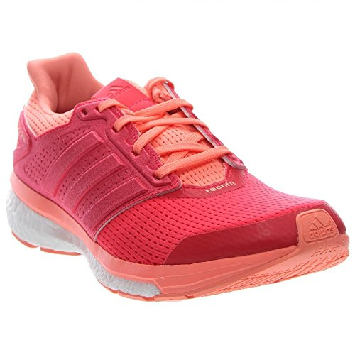 Adidas Supernova Glide 8 Femmes Chaussure de course 6 Black-EQT Rose Sunglow/Shock Red