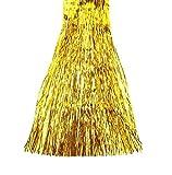 HAAC Lametta Lametten Länge 40 cm Farbe gold für Weihnacht Weihnachten