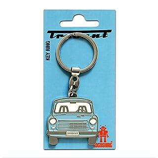 DDR - Auto - Trabi - Trabant 601 Schlüsselanhänger - Key-Ring - farbig - Lizenziertes Originaldesign - Logoshirt