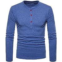 Ropa Hombre Camisetas, ❤️Zolimx Camisetas Hombre Originales Baratas Blusa Casual de Manga Larga de
