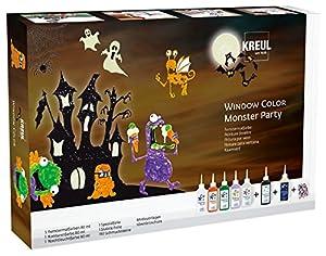 KREUL 42850-Window Color Monster Party Set