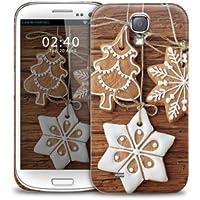 Stelle e appesi Natale, alberi di biscotto Samsung Galaxy S3 GS3 plastica della copertura della cassa del telefono di