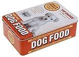 Vorratsdose Blechdose Futterdose 'Fütterungszeit' klein20 x 13x7cm - Dog Food