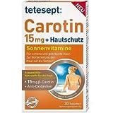 Tetesept Carotin 15 mg + Hautschutz Filmtabletten, 30 St