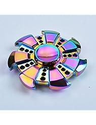 Hand Spinner,Tefamore Tri-Spinner Fidget Spinner à la Camouflage principal Multi-Color EDC Focus Toys