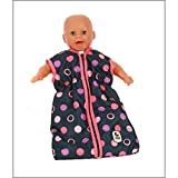Bayer Chic 2000 792 20 - Puppen-Schlafsack, Corallo