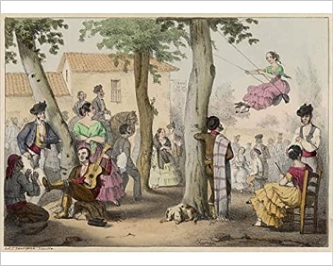 Photographic Print Of Swinging In Spain