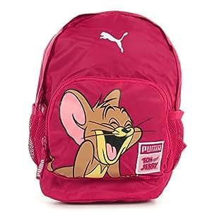 Garçon Fille PUMA Sac Enfants WALT Disney Tom & Jerry Cartoon Sac À Dos École Disney - Rose - 07320202, Taille Unique
