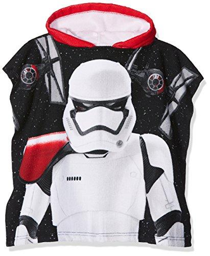 Star Wars Kapuzen Poncho Stormtrooper–Schwarz