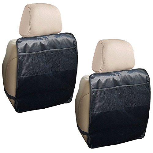 Preisvergleich Produktbild Xcellent Global Extra Großer Autositz Rück-Kickschutz mit Taschenaufbewahrung 2 Packete Decken Ein Auto, SUV, Truck, Minivan Wasserfeste Trittmatten HG156