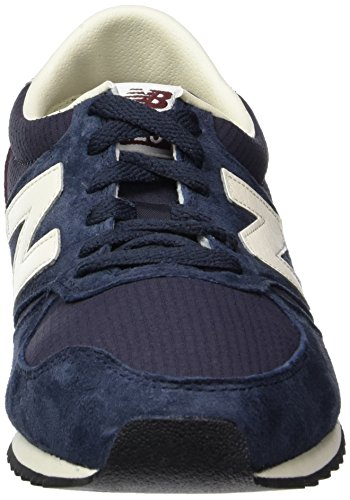 New Balance U420v1, Baskets Basses Homme, Schwarz, Taille Unique Blau
