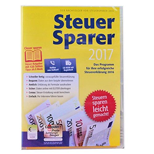 Lidl Steuer Sparer 2017 für Steuererkklärung 2016