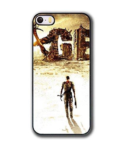 Printed Apple iPhone 5,iPhone 5S,iPhone SE Custodia Case Cover,Uncharted 4 Games Themes Plastica Rigida Prottetiva Antiurto Custodia per iPhone 5 5S,iPhone SE
