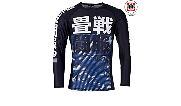 Tatami Fightwear pour Homme Penseur Singe S//S Rashguard