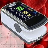 EKG Oximeter Pulsmesser Pulsuhr Herzschlag Sauerstoffsättigung Sp02 OM3