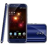 DOOGEE BL5000 4G Smartphone Débloqué(Trois Caméras 13MP+8MP - 4GO RAM 64 ROM - 5.5 Pouces FHD - Android 7.0 MT6750T Octa Core - 5050mAh Batterie - Fingerprint - Charge Rapide)