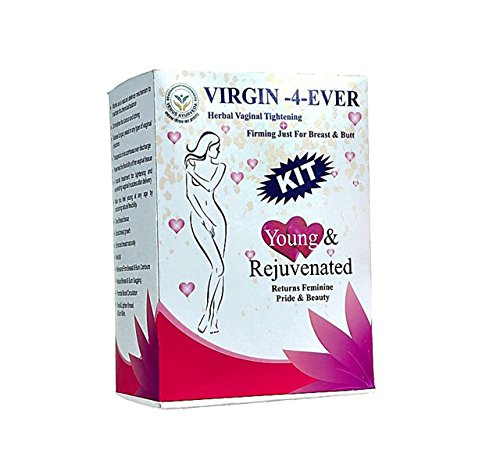 Venus Ayurveda Virgin -4-Ever Kit For Private Part Tightening - Breast & Butt Shaping, Firming, Lifting & Tightening