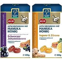 Manuka Health Lutschbonbons 2er Set Zitrone Ingwer & Johannisbeere MGO400+ (2 x 100 g)