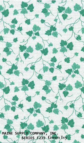 Green Ivy Series F0235 Vinyl Tablecloth 54 X 45' Roll by Nordic Shield (Vinyl Tablecloth Roll)