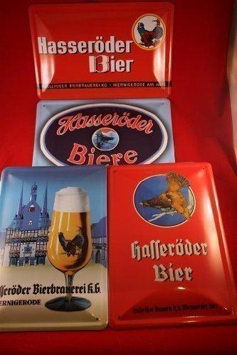 4-hasseroder-bier-blechschilder-20x30-cm-wernigerode-auerhahn