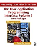 [(The Java Application Programming Interface: Core Packages v. 1)] [By (author) James Gosling ] published on (May, 1996)