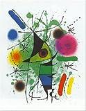 Der singende Fisch vON Joan Miro 31x 24Poster Kunstdruck