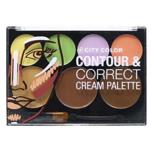 CITY COLOR Contour & Correct Cream Palette - All-In-One