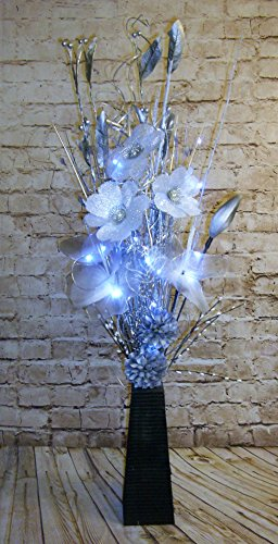 link-products-wood-vases-with-artificial-flowers-grasses-led-lights-bright-silver-85-cm