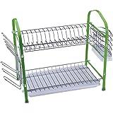 Renberg Green Concept - Escurreplatos, 42,5 x 25 x 37,5 cm, material plástico