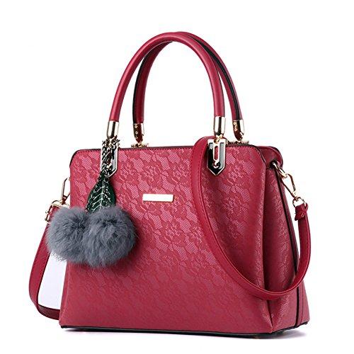 Dreamaccess , Damen Tote-Tasche Medium, rot - rot - Größe: Medium (Louis Rot Vuitton Leder)