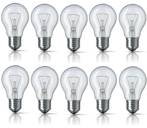 10-x-tesco-40w-es-e27-clear-standard-classic-gls-light-bulbs-edison-screw-cap-incandescent-dimmable-