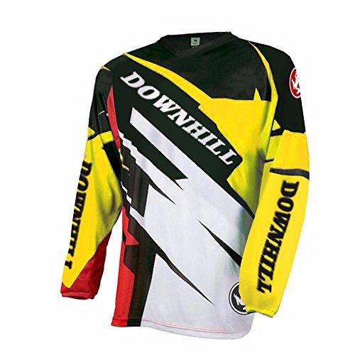 Uglyfrog 2018 Kurzarm Ärmel Jersey Frühlingsart Motocross Mountain Bike Downhill Shirt Herren Sportbekleidung Kleidung (Kurzarm-motocross Jersey)