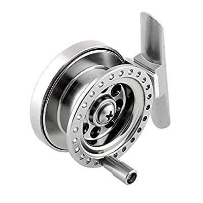 Relefree Firm Aluminum Alloy Sea Ice Fly Flies Fishing Tackle Line Wheel Reel Durable from Relefree